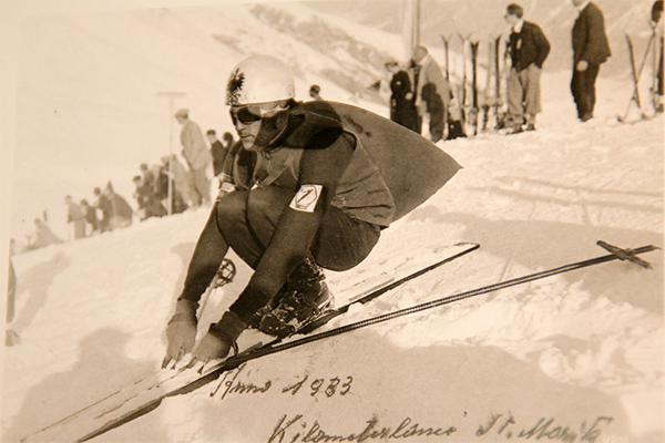 Leo GASPERL - 1930 - Premier Record du Monde à 139 km/h
