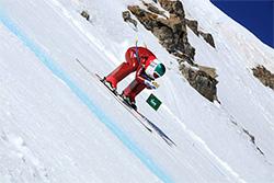 Valentina GREGGIO (ITA), record du monde de Ski de Vitesse - Vars, 26 mars 2016