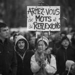 Manifestation Charlie Hebdo Grenoble